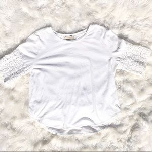 〰️LOFT〰️ Summer White top